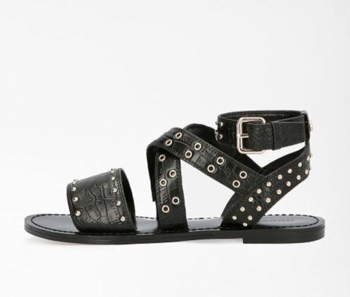GUESS sandalo donna basso legato alla caviglia-3