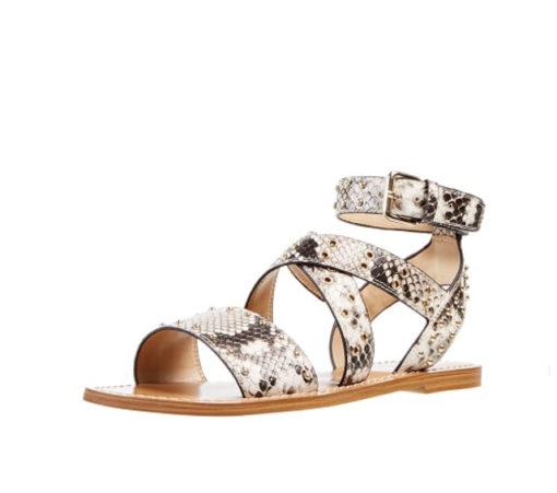 GUESS sandalo donna basso legato alla caviglia