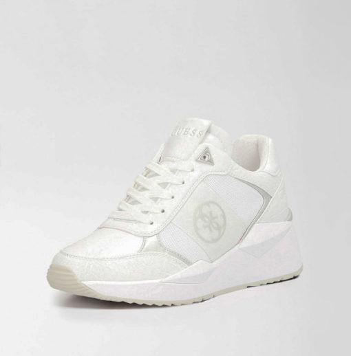 scarpa bianca allacciata GUESS donna