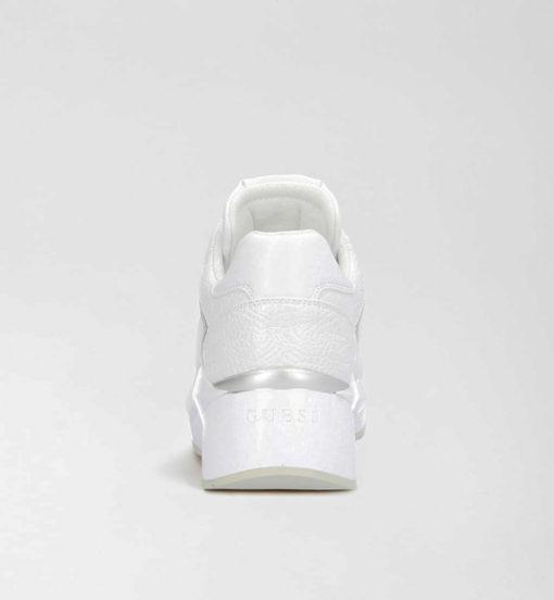 scarpa bianca allacciata GUESS donna-2