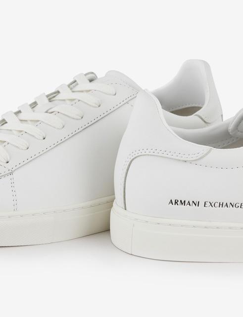 ARMANI EXCHANGE sneakers in pelle da uomo-4