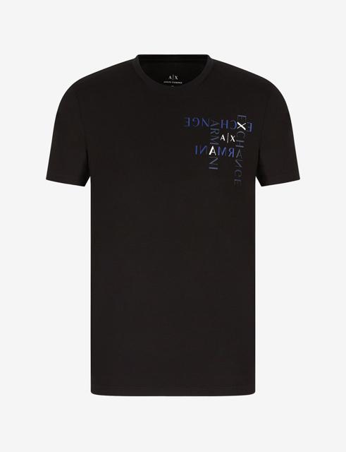 ARMANI EXCHANGE maglietta regular fit in jersey di cotone-4