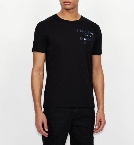 ARMANI EXCHANGE maglietta regular fit in jersey di cotone