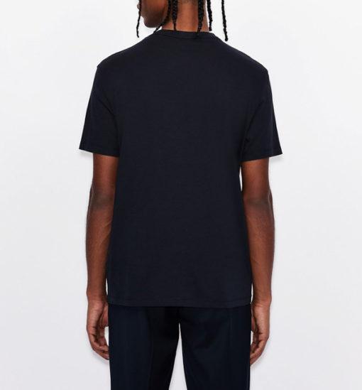 ARMANI EXCHANGE t-shirt con stampa colorata da uomo-7
