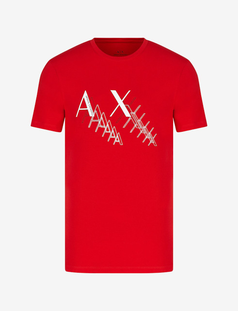 Armani Exchange t-shirt da uomo girocollo slim fit-4