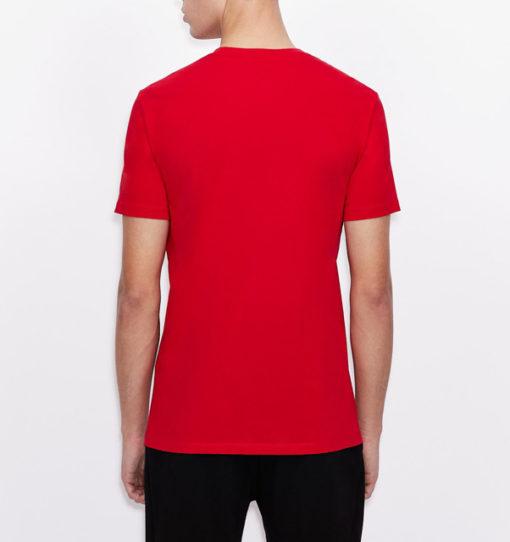 Armani Exchange t-shirt da uomo girocollo slim fit-6