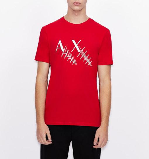 Armani Exchange t-shirt da uomo girocollo slim fit