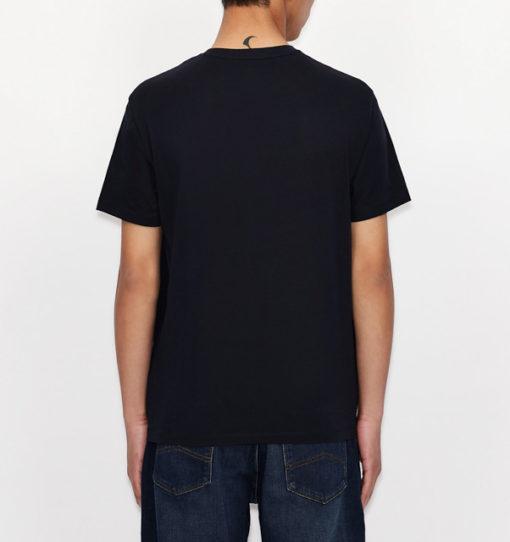 ARMANI EXCHANGE t-shirt da uomo con stampa e scritta-7