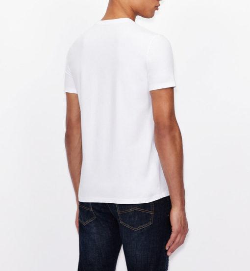 Armani Exchange maglietta con stampa quadrata da uomo-9
