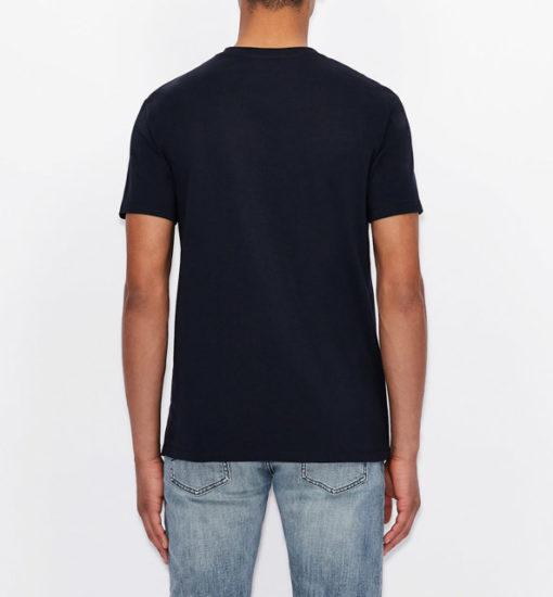 Armani Exchange maglietta con stampa quadrata da uomo-10