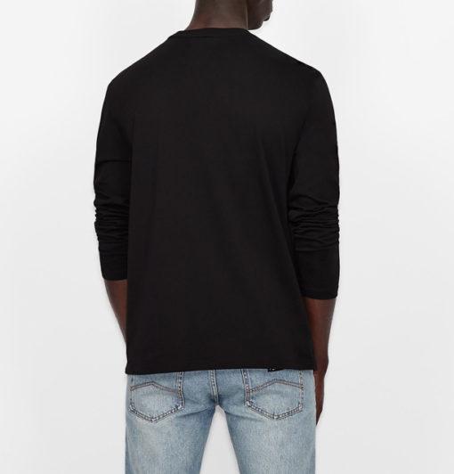 ARMANI EXCHANGE t-shirt manica lunga logo AX-7