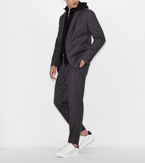 ARMANI EXCHANGE giacca monopetto uomo-3