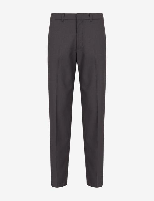 ARMANI EXCHANGE pantalone micro-quadretto da uomo-6