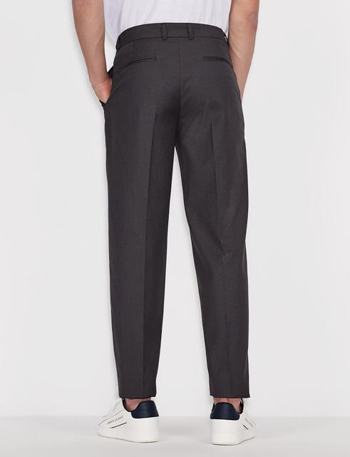 ARMANI EXCHANGE pantalone micro-quadretto da uomo-2